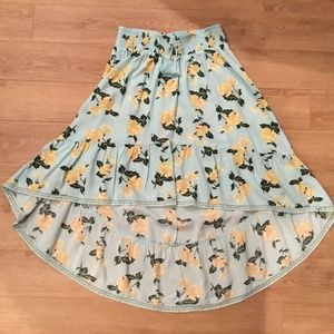 Girls Justice High/Low Skirt